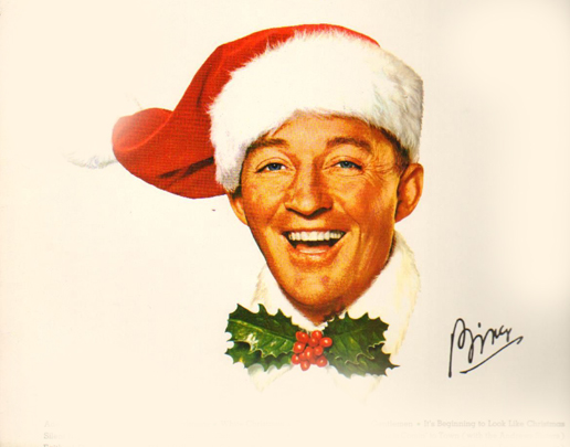 Bing Crosby - apparently hated Christmas, but you'd never know it.