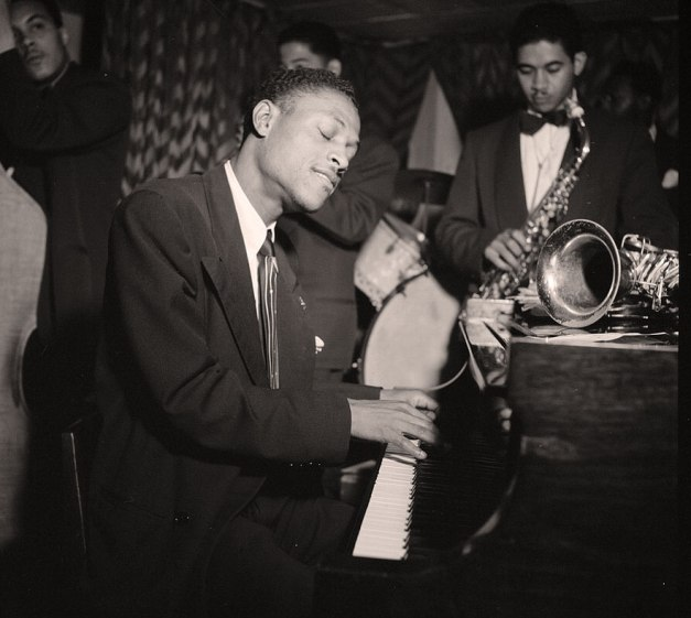 Eddie Heywood - sandwiched between Teddy Wilson and Duke Ellington, he still had something to say.