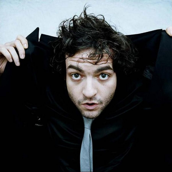 Mathieu Chedid -aka: M. Further evidence there's a lot going on in the world.