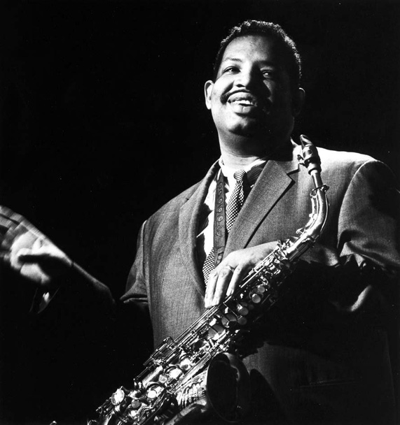 Cannonball Adderley - spreading the message to the Hollywood crowd.