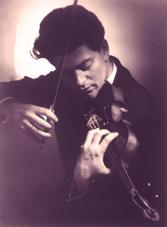 Devy Erlih - the epitome of the French Style of violin playing.