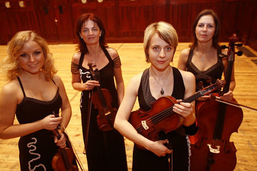 The Kapralova Quartet - Furter evidence Classical Music doesn't need to be dour and bland.