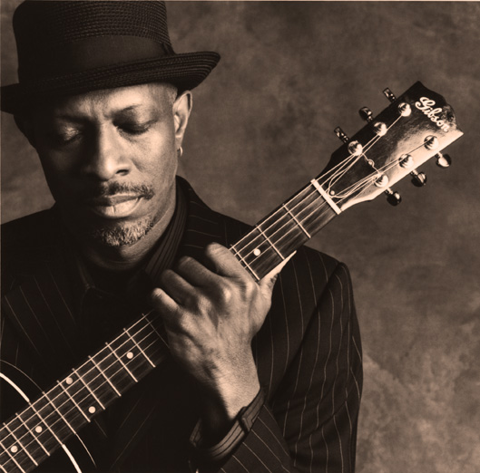 Keb' Mo' - lending an air of soulful brilliance to the proceedings.
