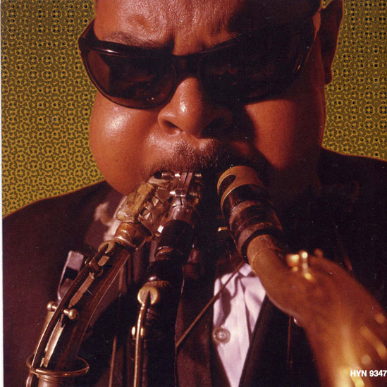 Rahsaan Roland Kirk - Not content with playing one sax at a time - he had to play three, and sometimes more.