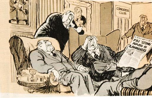 Ethics in Congress under scrutiny - how unusual.
