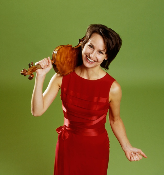 Rèka Szilvay - tackling all the Beethoven Violin Sonatas this month.
