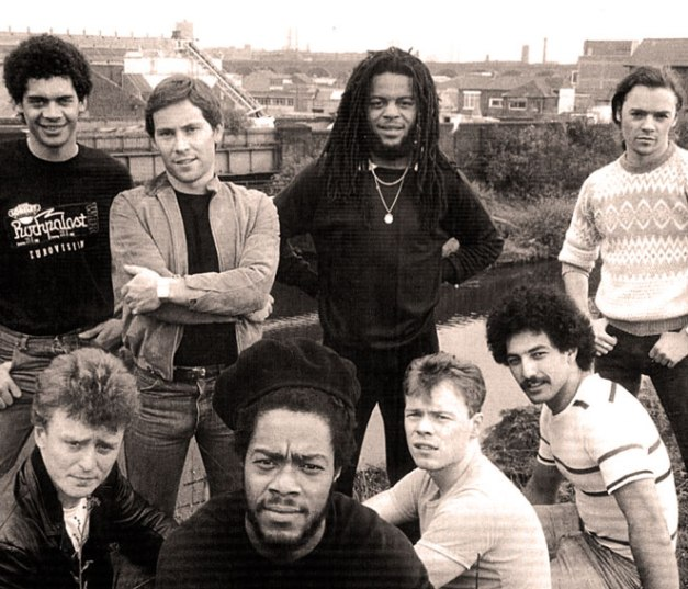 UB40 - not  your average quasi-Reggae get-together.