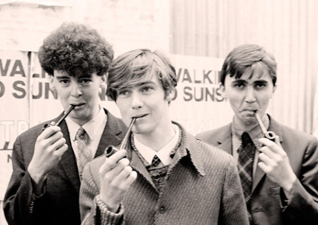 Roddy Frame With Aztec Camera -  Looking to cash in on the Studious Crowd.