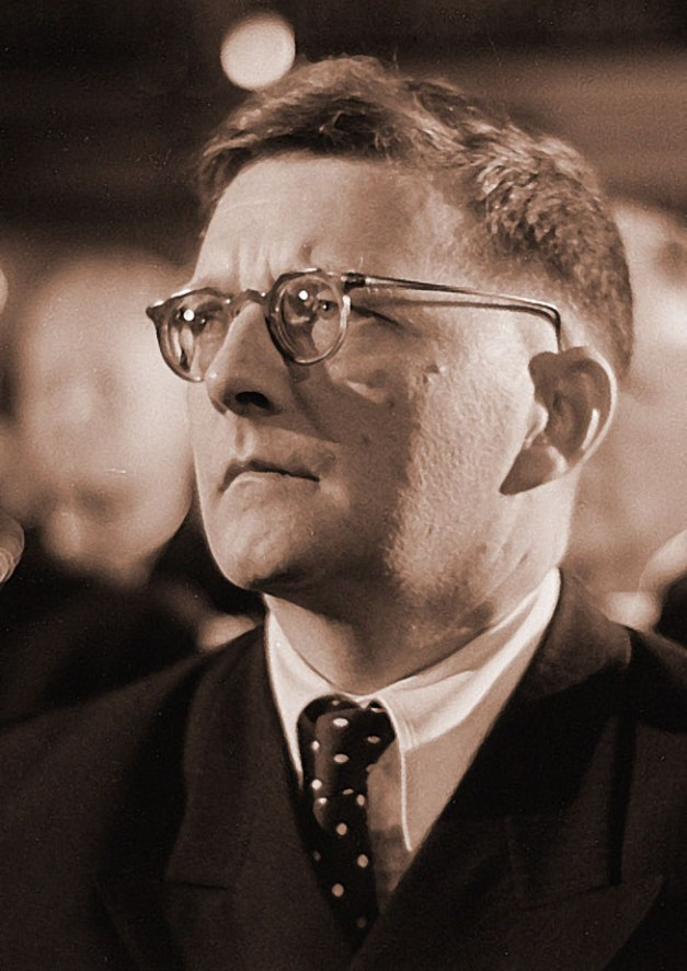 Dmitri Shostakovich - Came along at a time when the world needed him the most.