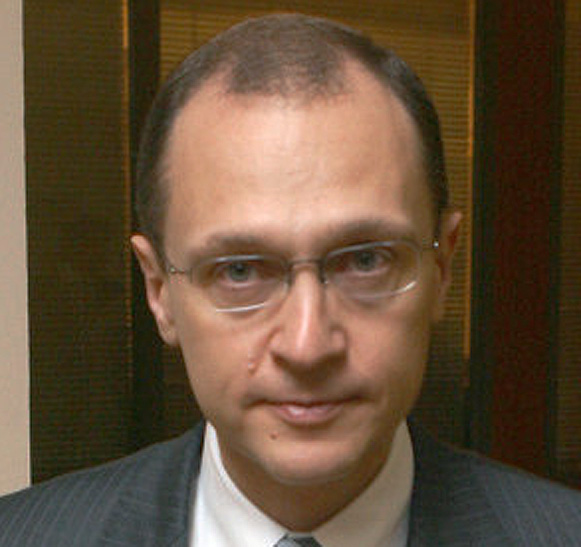Sergei Kiriyenko - if, at first you don't succeed . . .
