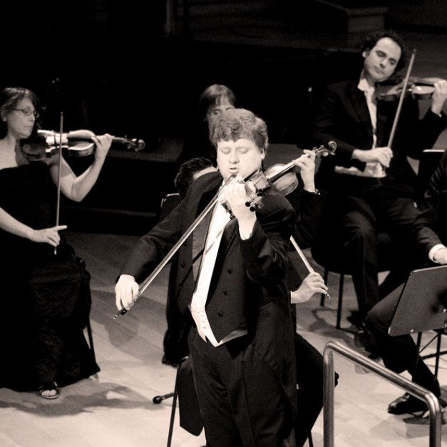 Andrey Baranov - recent winner of the Queen Elizabeth Violin Competition. So there.