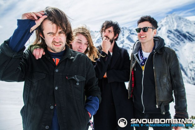 The Vaccines - rumored to have been on tour for 3 years straight.