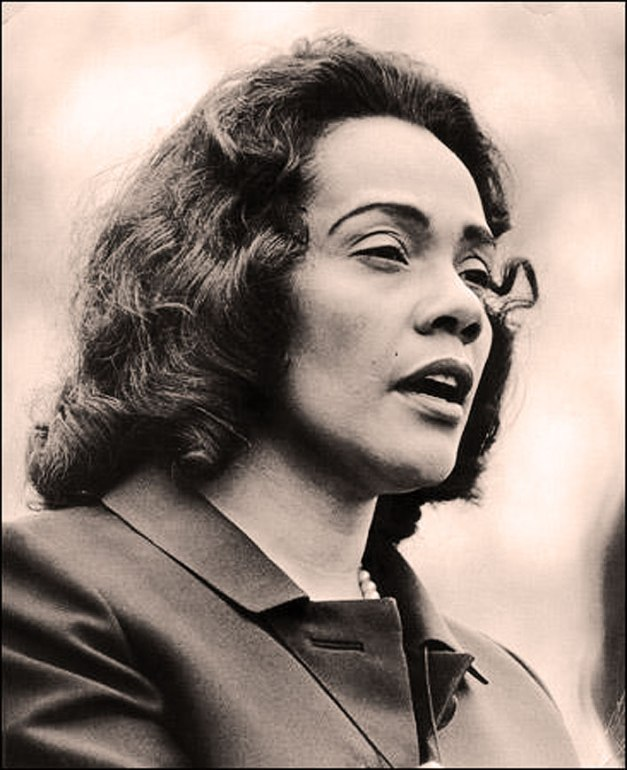 Coretta Scott-King - fulfilling a legacy.