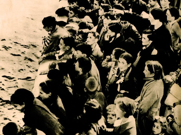 Spanish Civil War Orphans enroute to England in 1938 - by all accounts, only a tiny fraction would be let into the States.
