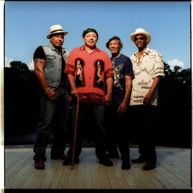 The Neville Brothers - New Orleans' very own First Family of Funk And A Whole Lot More.
