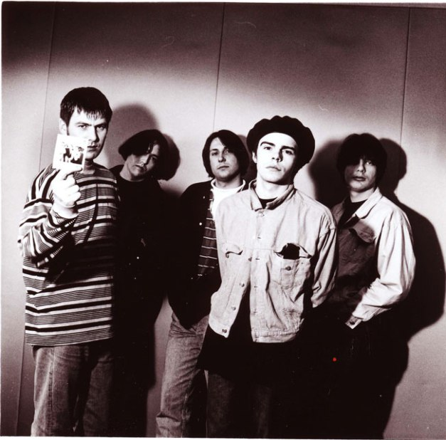 The Charlatans (Jon Brookes in back row) - another member of the family goes.
