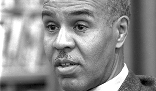 Roy Wilkins - led the NAACP from 1955 to 1977.